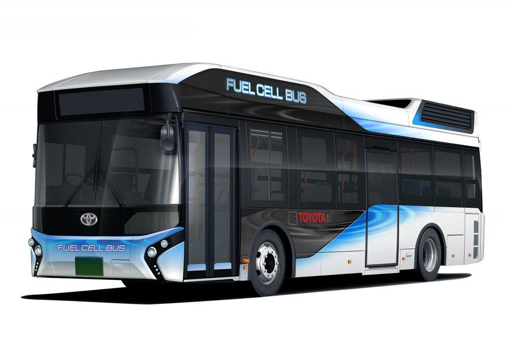 都営バスで燃料電池バス