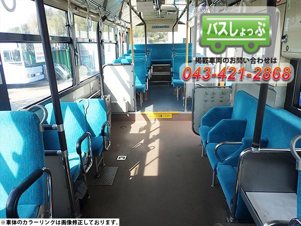中古バス エルガ 車内の画像