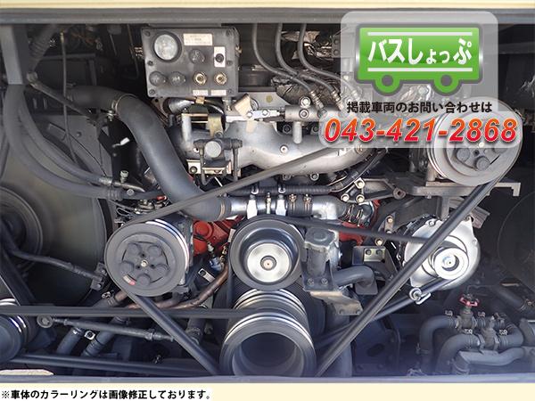中古バス エルガ 8PE1 エンジンの画像