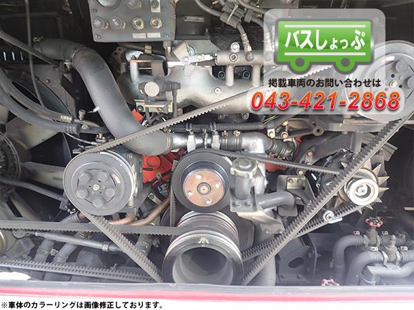 エルガ エンジン画像 8PE1