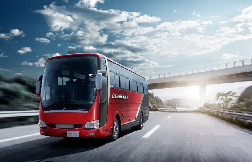 富士サンケイトレード株式会社 エアロエース/エアロクイーン 新型バス 発表